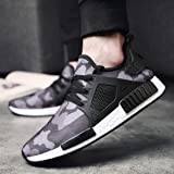 AIMTOPPY HOT Sale, Men's Lightweight Fashion Mesh Sneakers Breathable Athletic Outdoor Casual Sports Running Shoes (US:8.5, Gray)
