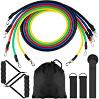 FancyWhoop Portable Exercise Resistance Band Set Stackable up