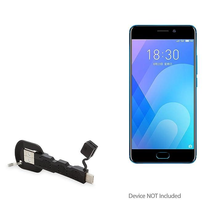 Meizu M6 Nota Cable, BoxWave [USB Type-C Cargador de llavero ...