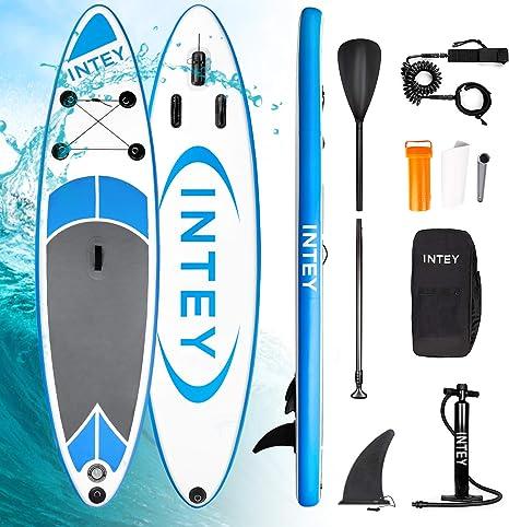 INTEY Tabla Paddle Surf Hinchable 305×76×15cm, Sup Paddle Remo ...