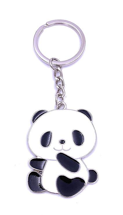 Onlineworld2013 Oso Panda Llavero Oso Panda Llavero de Metal