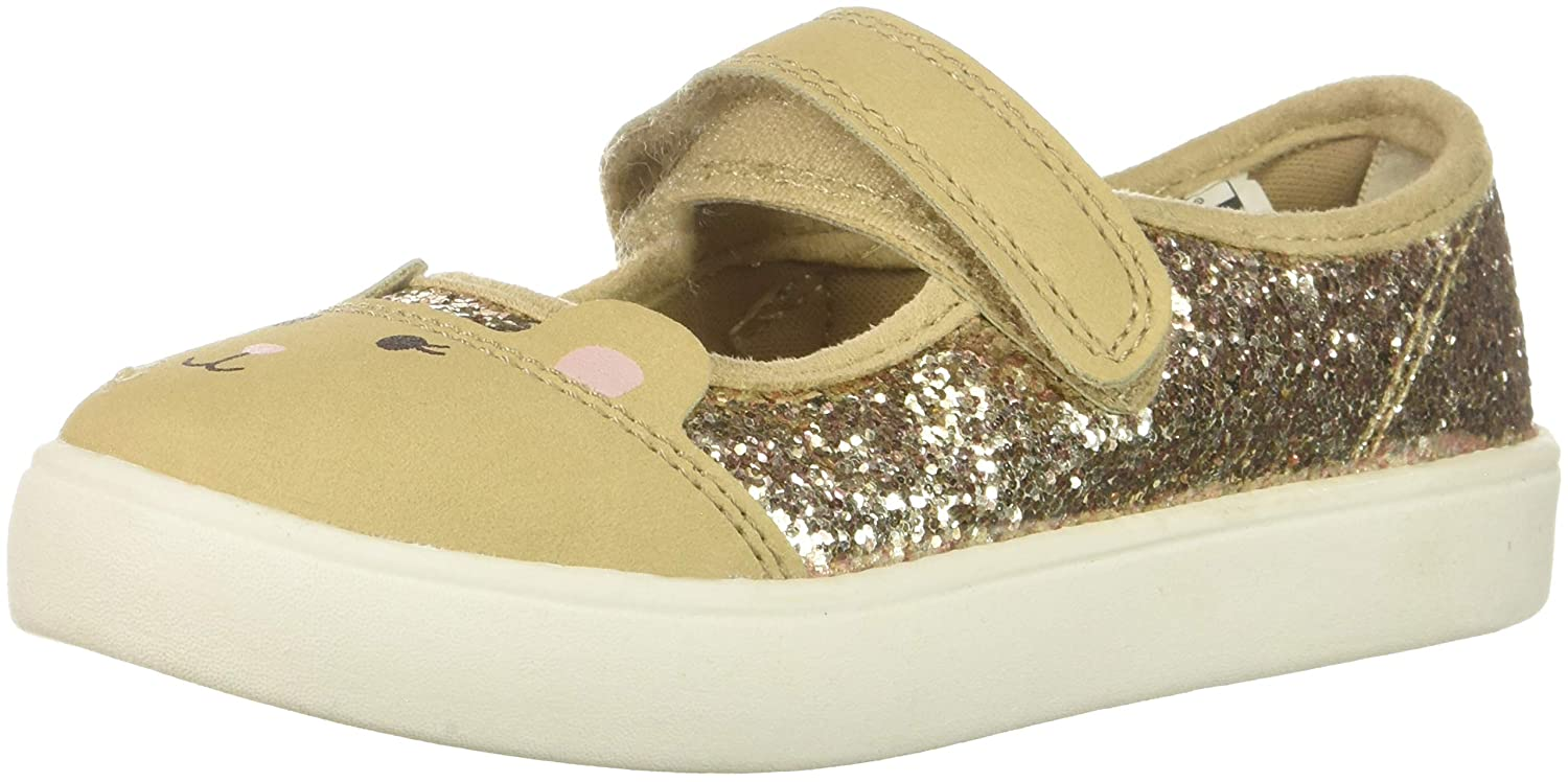 Carter's Kids Gril's Genna2 Gold Novelty Maryjane Mary Jane Flat Carter' s CF181041