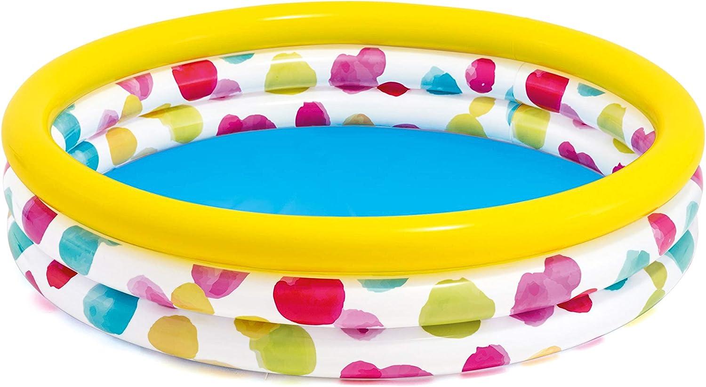 Intex Piscina 3 Aros Multicolor 168 X 38 Cm