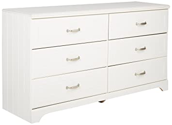 Charmant Amazon.com: Ashley Furniture Signature Design   Lulu Dresser   6 Drawers    Traditional Style   White: Kitchen U0026 Dining