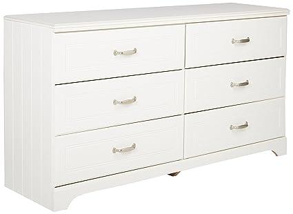 Superbe Ashley Furniture Signature Design   Lulu Dresser   6 Drawers   Traditional  Style   White