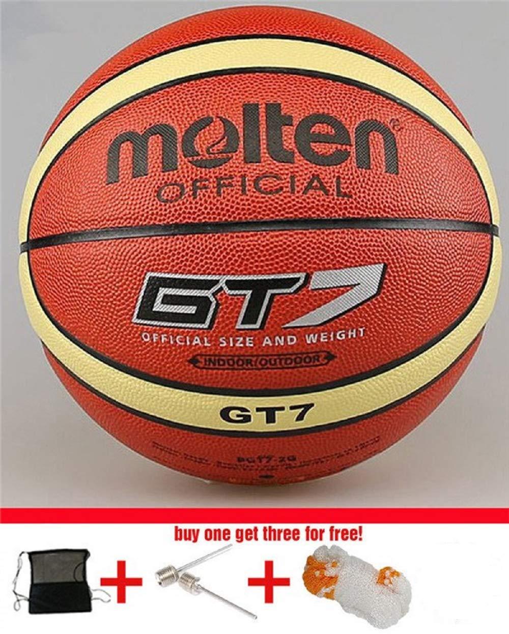 Amazon.com: SUPERLONG Marca GG7X Oficial Balón de Baloncesto ...