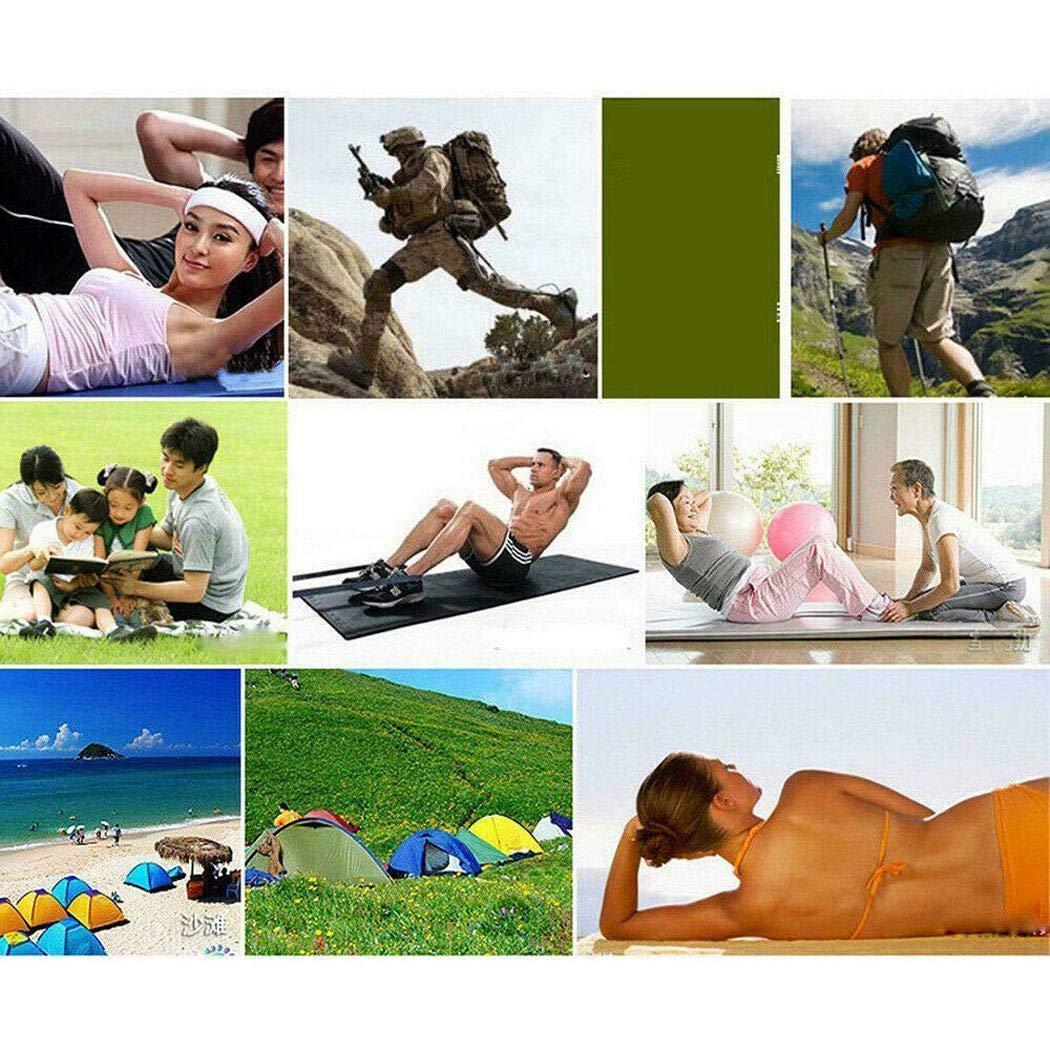 Zuionk Durable Portátil Sólido Antideslizante Suave Estera de Yoga de Fitness Plataformas de Equilibrio