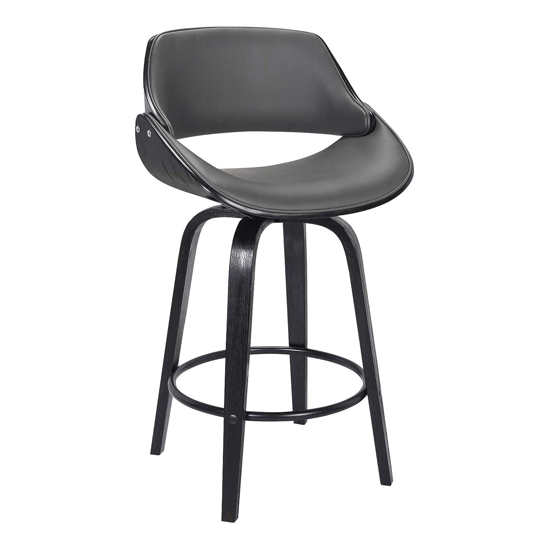 Fantastic Amazon Com Mona Faux Leather Swivel Barstool 26 Counter Bralicious Painted Fabric Chair Ideas Braliciousco