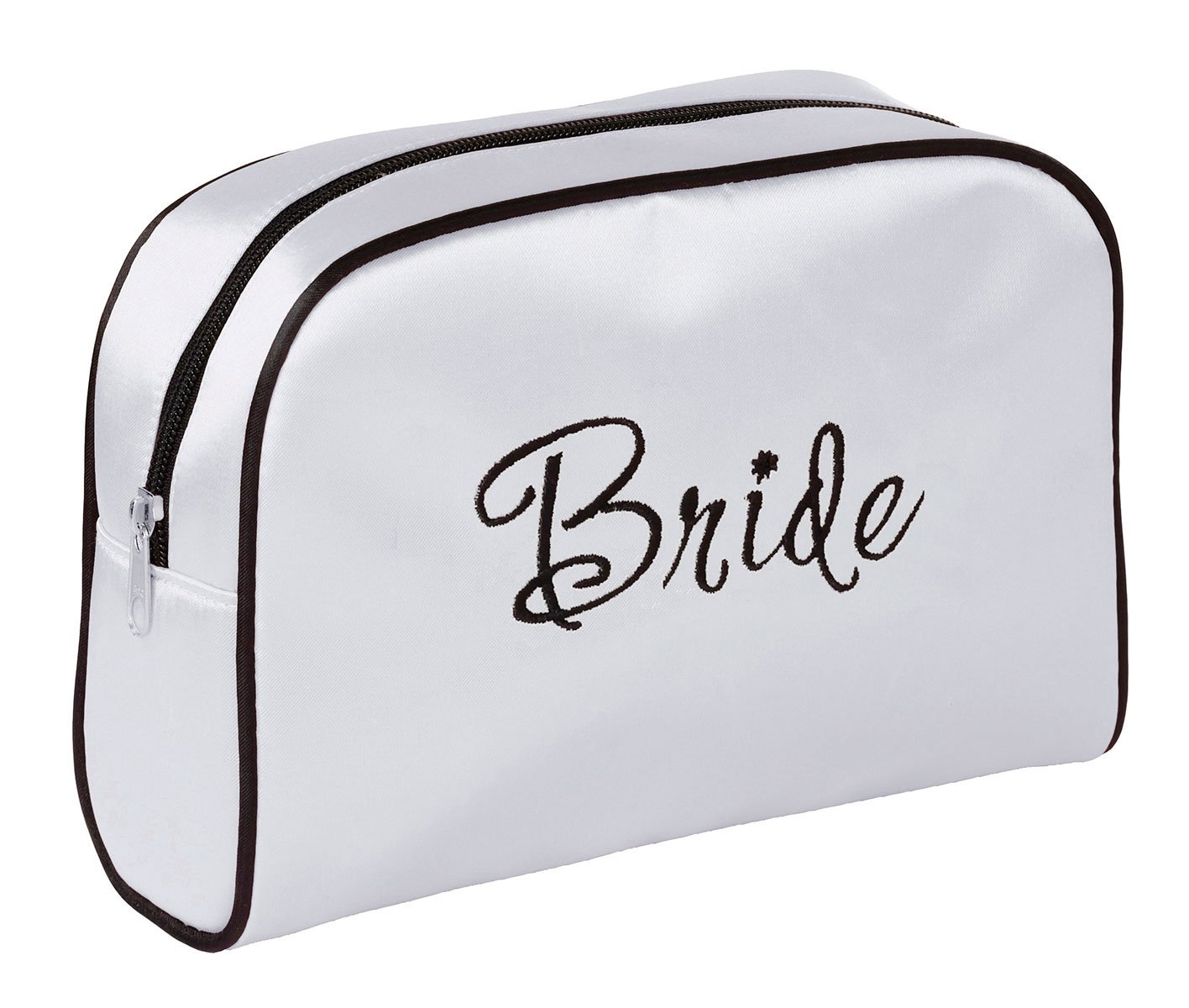 Lillian Rose White Bride Travel Accessory Makeup Bag