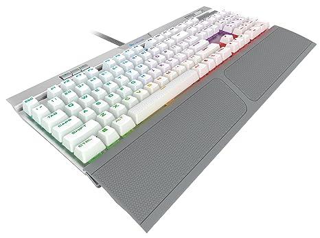 Corsair K70 RGB MK.2 SE Mechanische RAPIDFIRE Gaming Tastatur – USB Passthrough & Media Controls – PBT Double-Shot Keycaps –