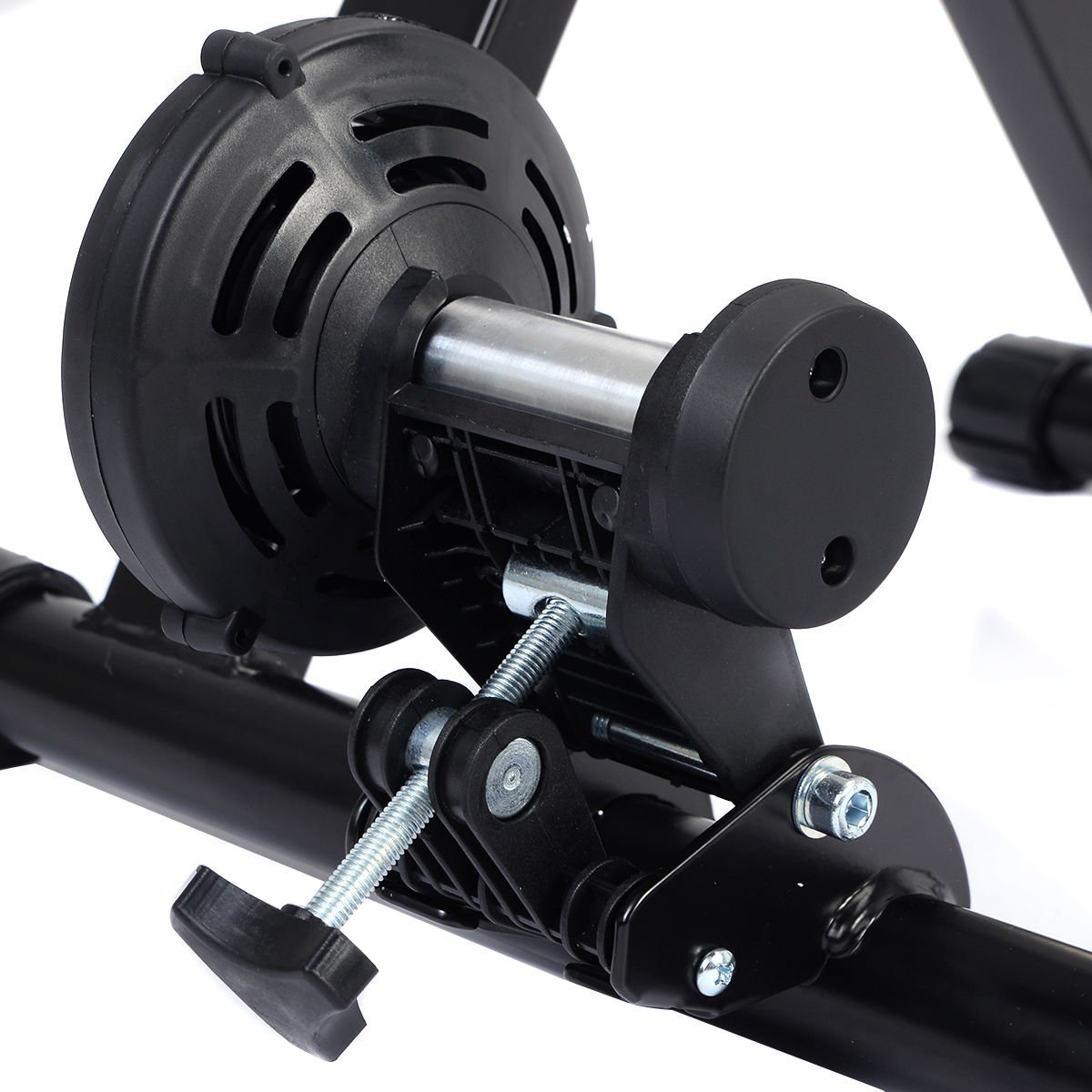 Goplus Portable Magnet Steel Bike/Bicycle Indoor Exercise Trainer Stand by Goplus (Image #8)