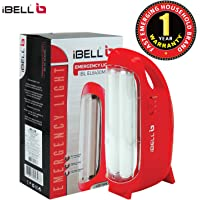 iBELL 8430 Rechargeable Emergency Light, High Bright LED Tube (White and Red)