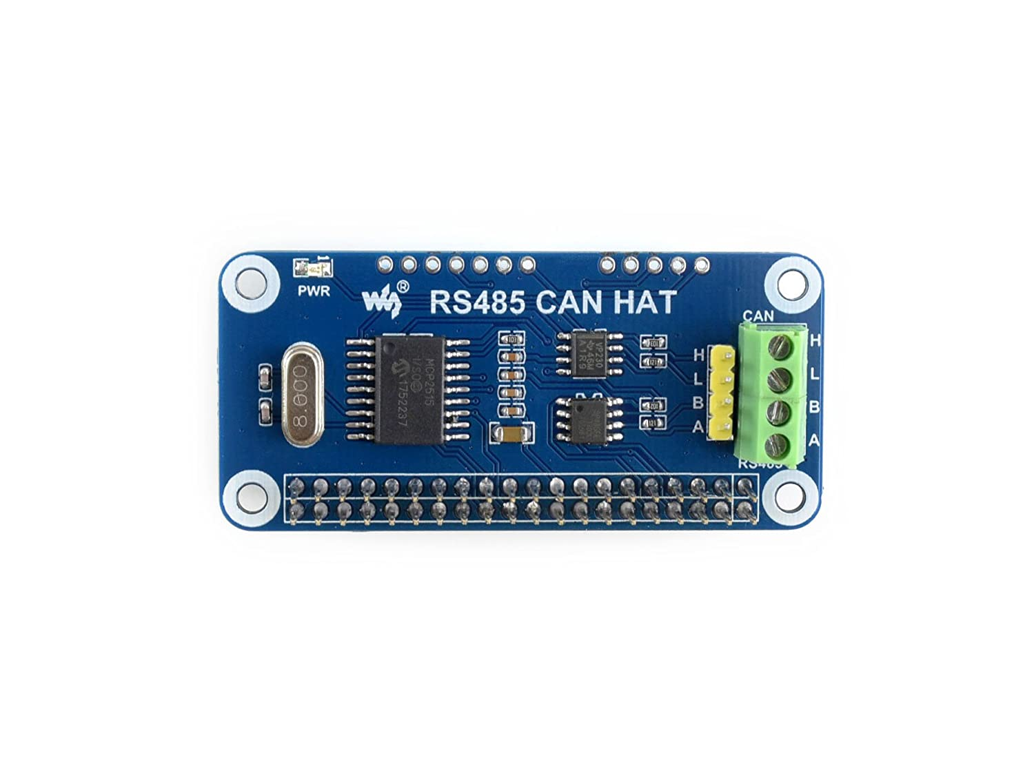 Waveshare Rs485 Can Hat For Raspberry Pi Function And Wiringpi Python Functions On Board Allows To Communicate With Other Devices Stably In Long Distance