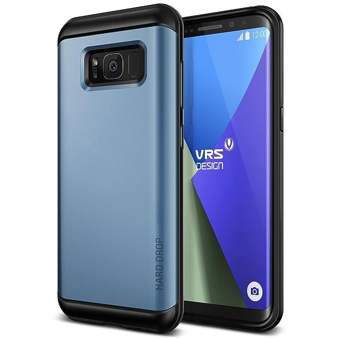 3 opinioni per Cover Galaxy S8, VRS Design® Custodia [Coral Blue] Copertura Durevole robusta