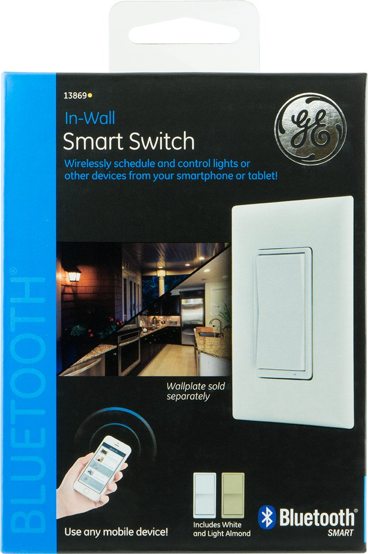 Ge Bluetooth Smart Switch In Wall 13869 Camera Dusk To Dawn Control Wiring Diagram For Garage Photo