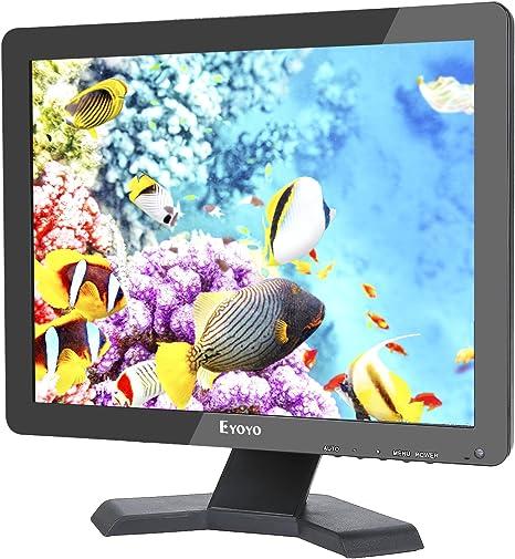Eyoyo Monitor TFT LED de 15 pulgadas 4: 3 ultra-delgado 1024x768 ...