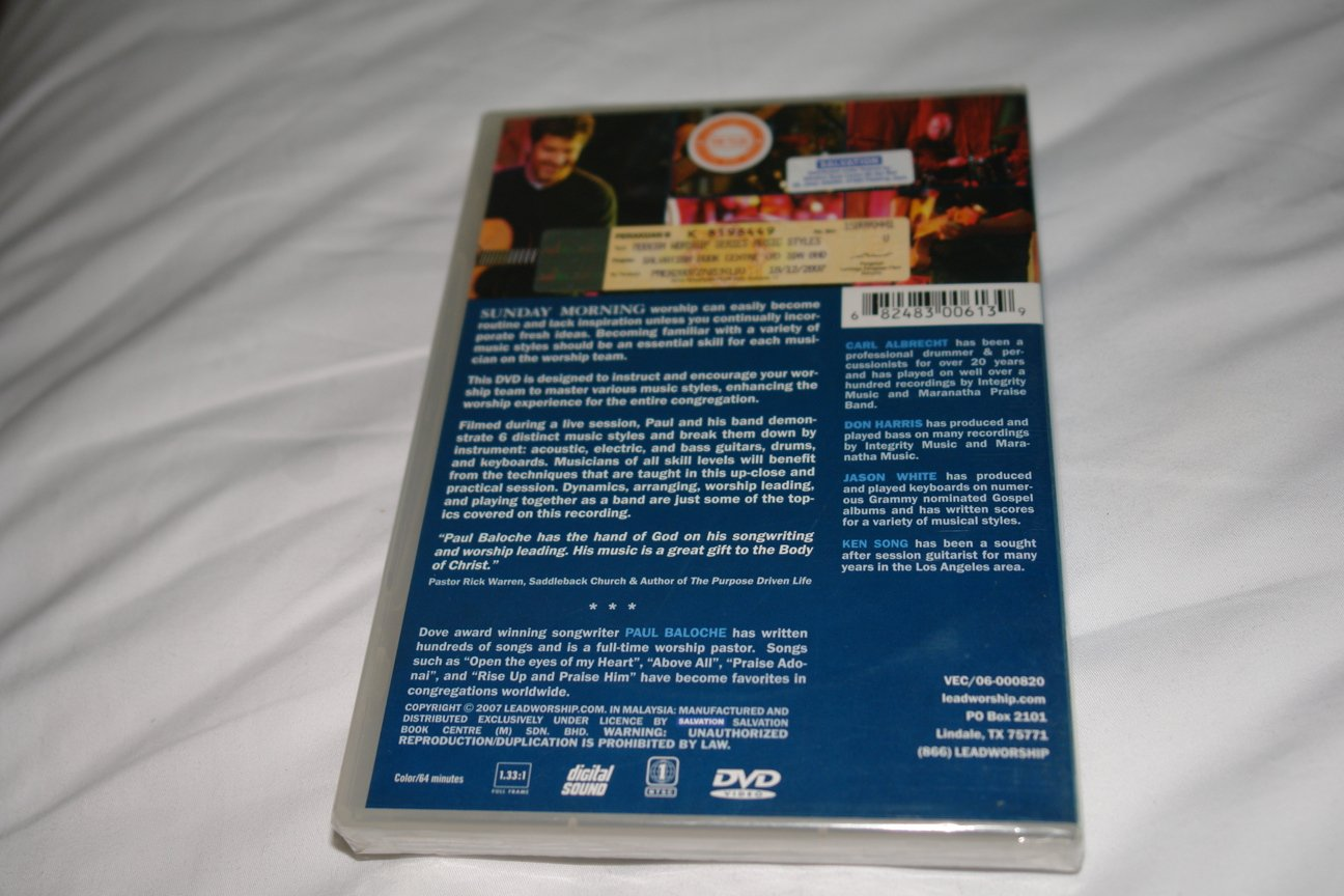 Amazon com: MODERN WORSHIP SERIES Instructional DVD with Paul