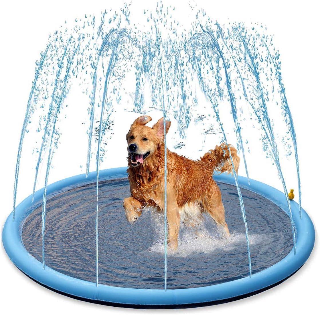 Splash Sprinkler Pad for Dogs Kids - 59