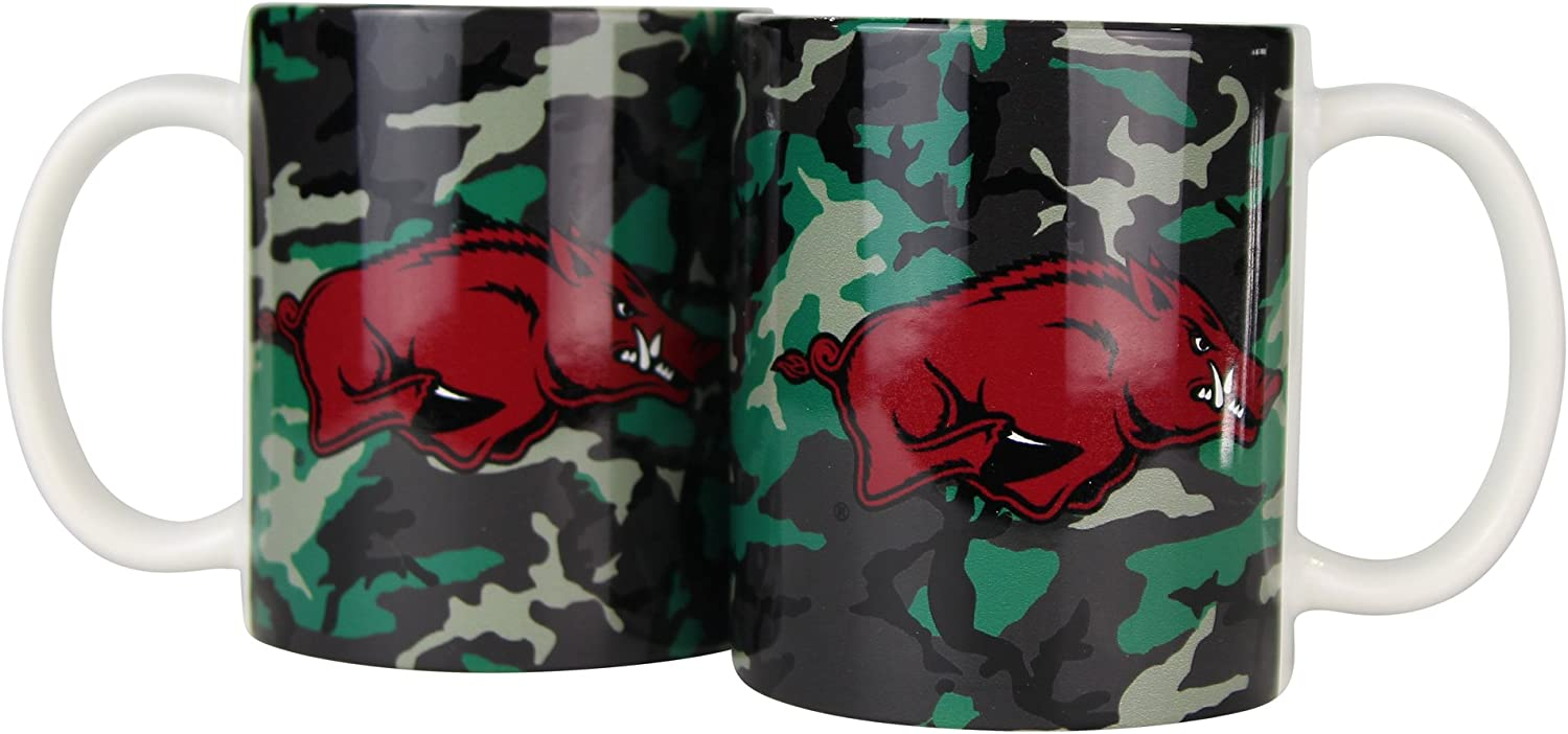 2 Pack Boelter NCAA Camouflage 11oz Coffee Mug