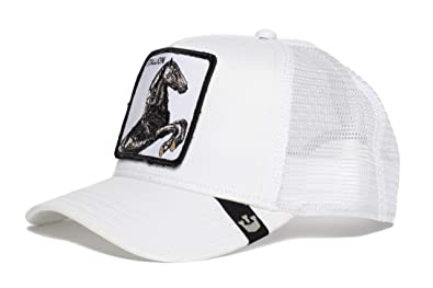 adc7a8419ccbee Amazon.com: Goorin Bros. Mens 'Stallion' Horse Trucker Snapback ...