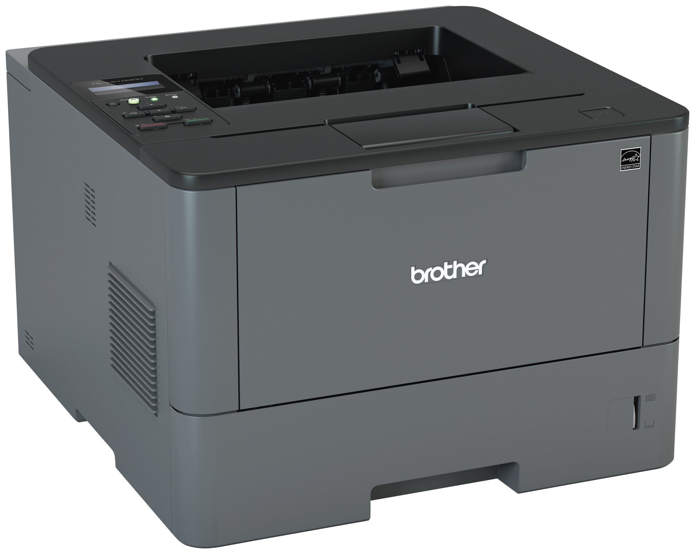 Brother HLL5100DN Business Laser Printer with Networking and Duplex, Amazon Dash Replenishment Enabled by Brother