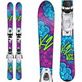 K2 Luv Bug Kids Skis With FDT 4.5 Bindings