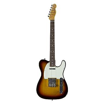 Fender 0275100500 Vintage 62 Telecaster con bordes redondeados diapasón de palisandro 3 colores Sunburst guitarra