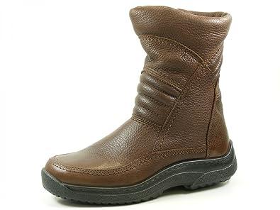 Jomos 408503 Compact Schuhe Herren Stiefel Stiefeletten Lammfell,  Schuhgröße 39 Farbe Braun d497e116d3