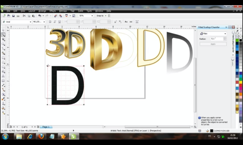 COREL DRAW TUTORIALS VIDEOS