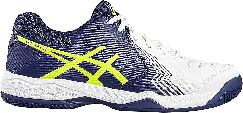 ASICS Herren Gel Game 6 Clay Tennisschuhe, blau