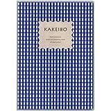 ダイゴー 家計簿 ギンガムチェック チェック柄 A5 ブルー J1236