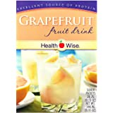 Healthwise - Grapefruit Diet Fruit Drink | Healthy Protein Drink, Appetite Suppressant | High Protein, Fat Free, Low Carb, Lo
