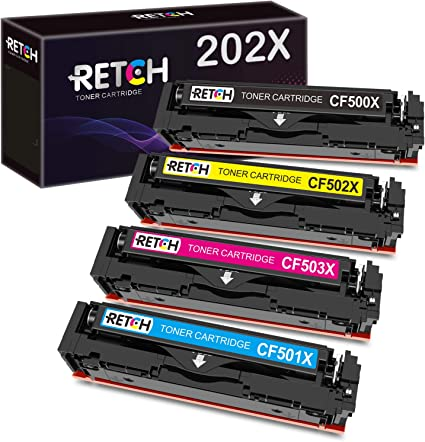 2Black CF500X  High Yield for HP 202X HP 202A CF500X CF501X CF502X CF503X CF500A