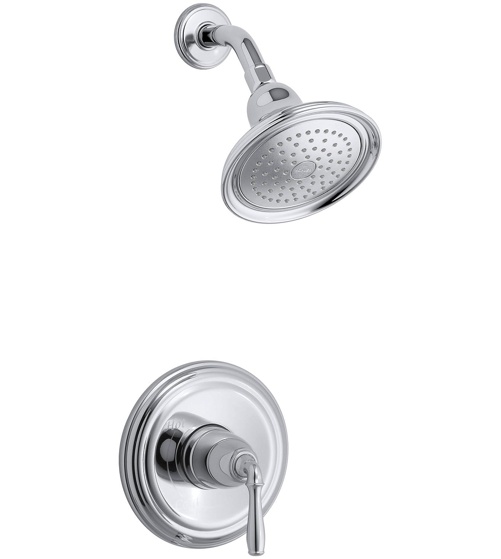 Kohler Ts396 4 Cp Devonshirer Rite Tempr Shower Valve Trim With