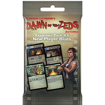 Dawn of The Zeds Pack #2: New Player Blues Expansion: Toys & Games