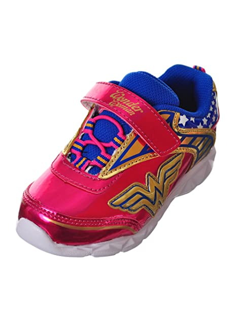c72cc8f6cc7a6 Amazon.com: Favorite Characters Girl's Wonder Woman Lighted Athletic ...
