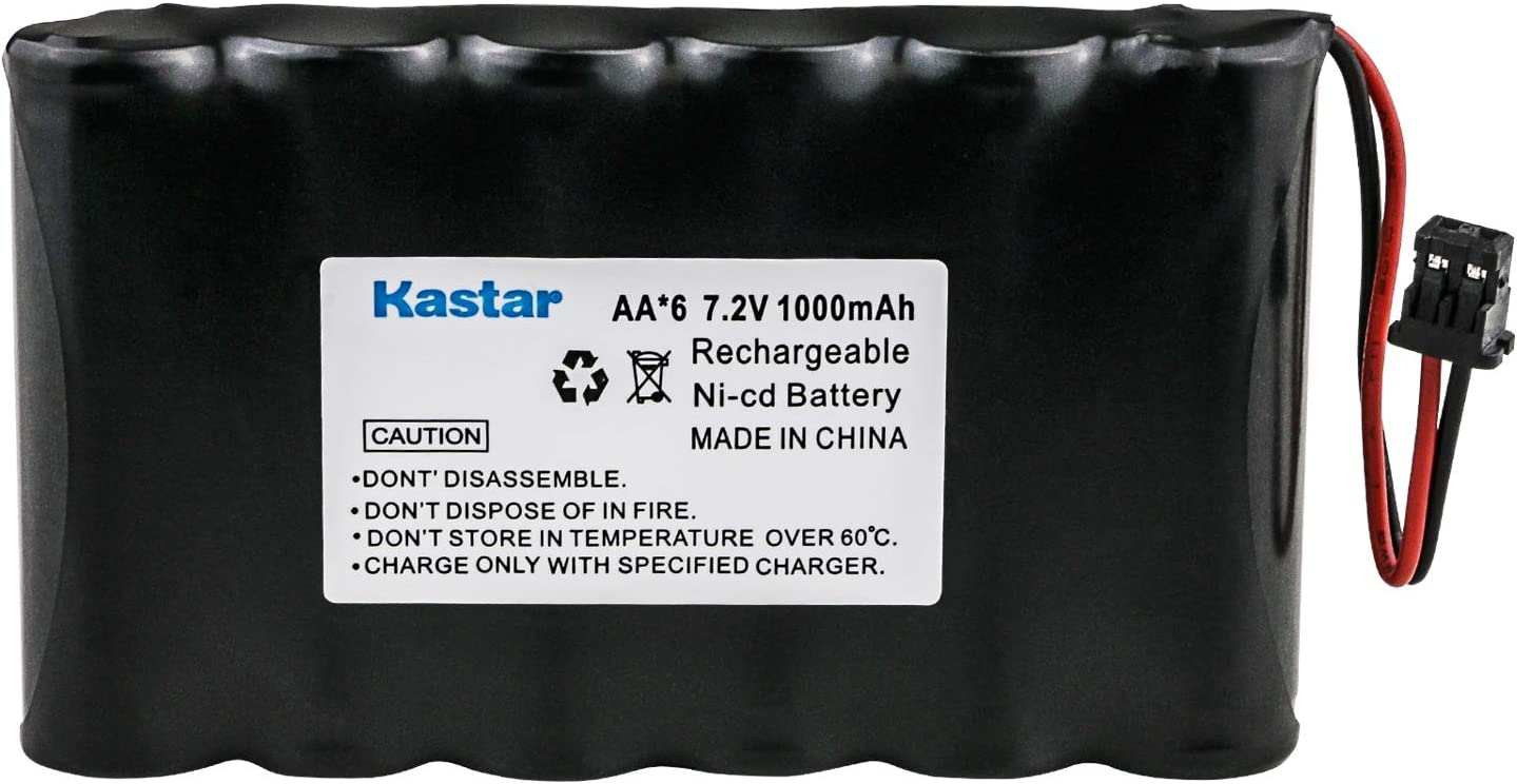 Kastar Cordless Phone Battery Ni-CD, 7.2 Volt, 1000 mAh Replacement for Panasonic PQP50AA61 and Panasonic P-P507, TYPE 18 Rechargeable Battery