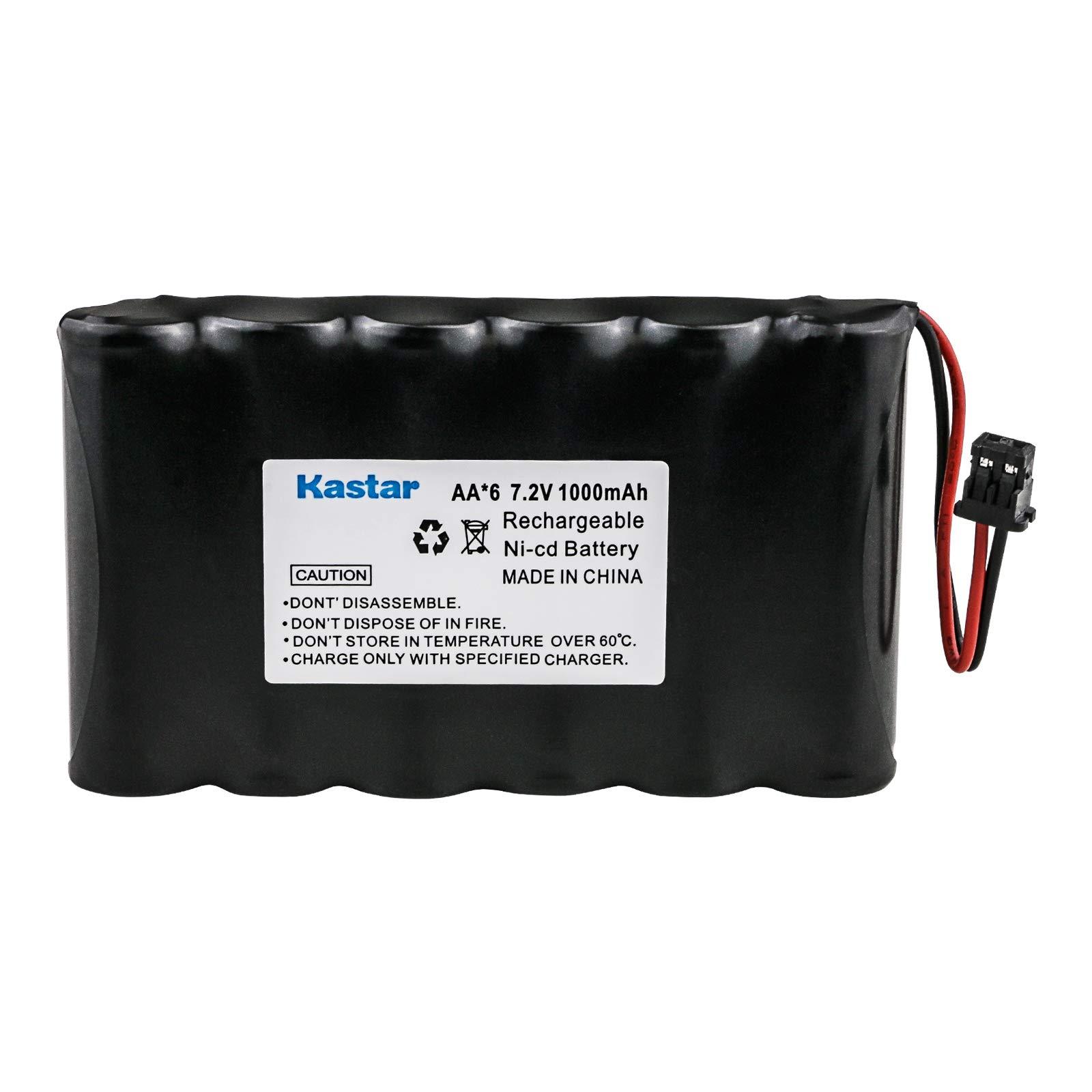 Panasonic PQP50AA61 Cordless Phone Battery Ni-CD, 7.2 Volt, 500 mAh - Ultra Hi-Capacity - Replacement for Panasonic HHR-P401, PANASONIC P-P507, TYPE 18 Rechargeable Battery