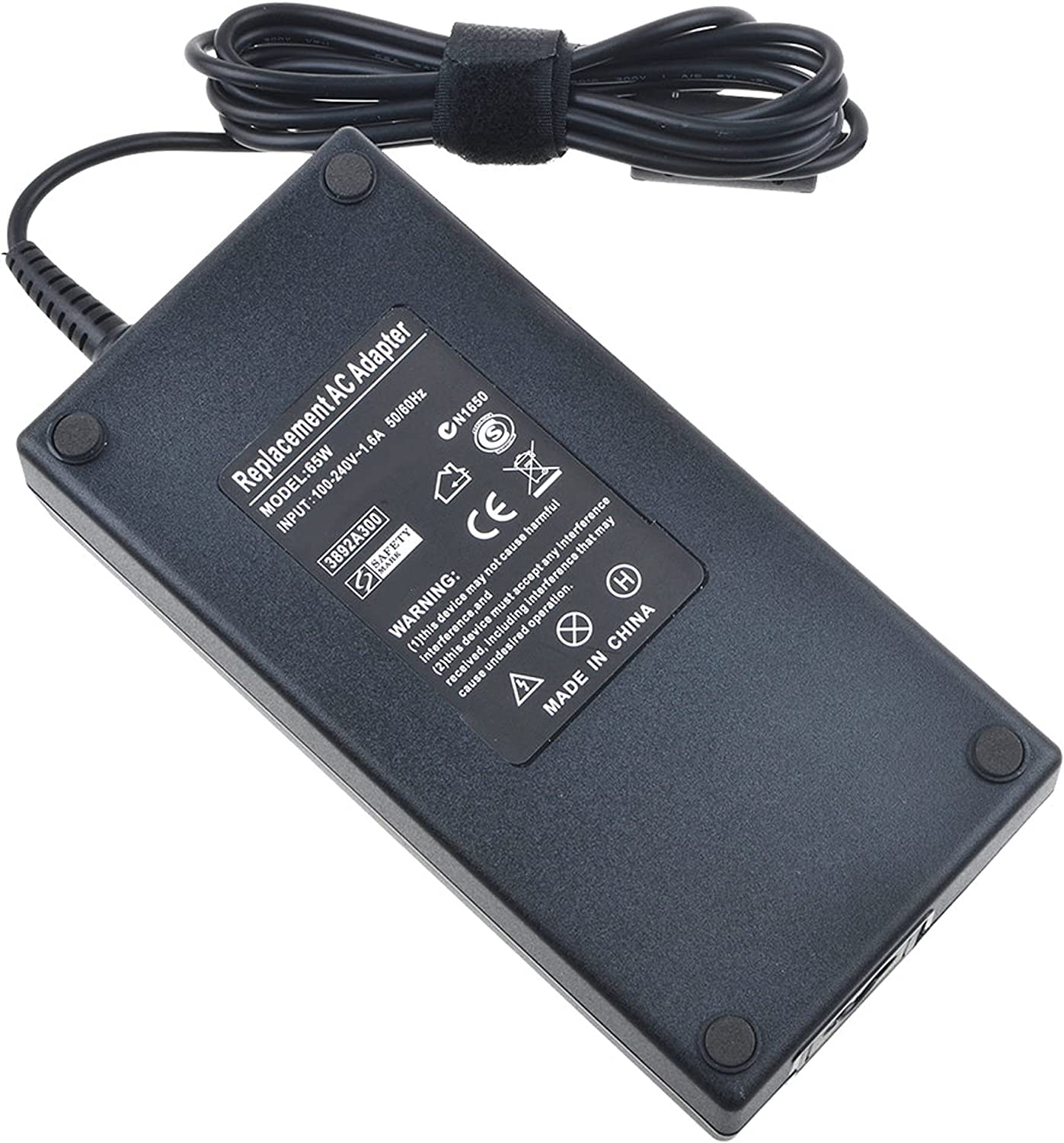 Digipartspower 19V 6.3A 120W AC/DC Adapter for Acer Liteon PA-1121-04 PA112104 Laptop Notebook PC 19VDC 6.3A Power Supply Cord Cable Battery Charger Mains PSU