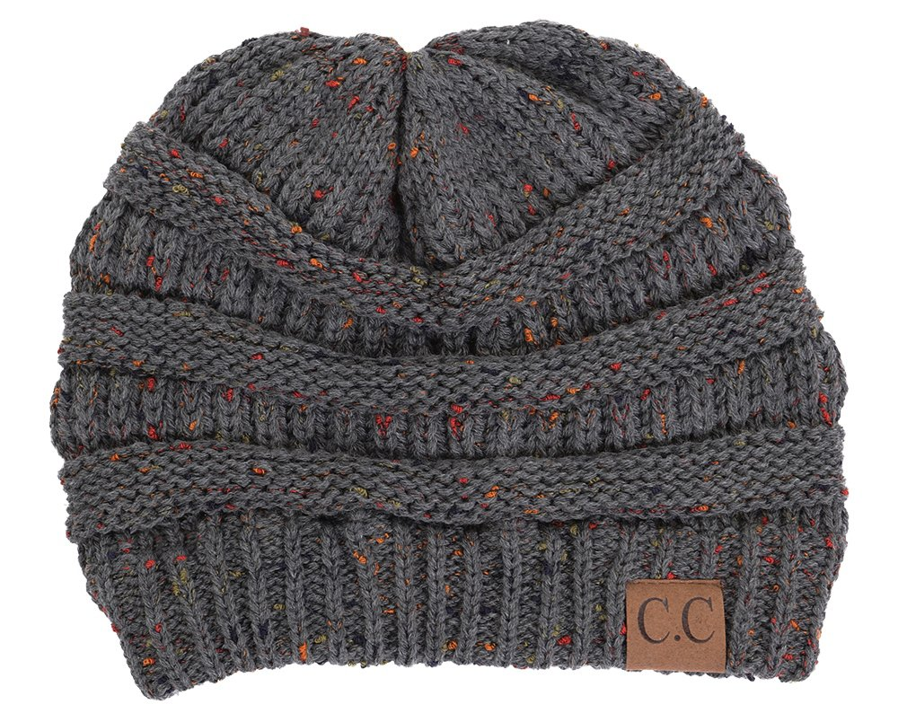 e073bea1045 Funky Junque Confetti Knit Beanie - Thick Soft Warm Winter Hat - Unisex  product image