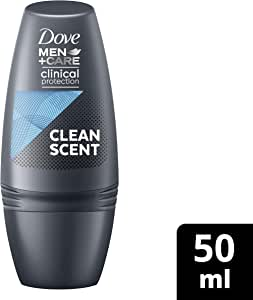 Dove Men+Care Clinical Protection Antiperspirant Deodorant Roll On Clean Comfort, 50ml