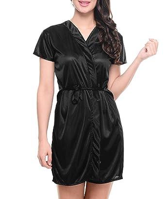 TWO DOTS Women s Nightdress (NWB031 Black Free Size)  Amazon.in ... 29d69fceba