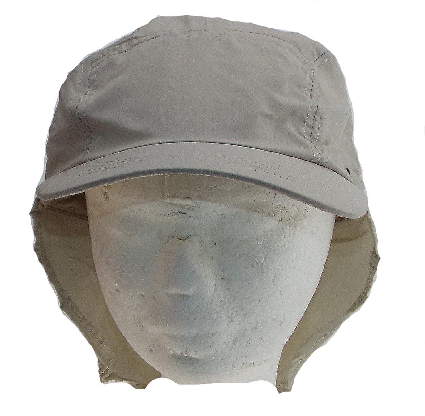 73cd21606681 1 Casquette homme avec cache nuque amovible - taille 57 ou 59 - ribstop -  100% polyester, microfibre.  Amazon.fr  Vêtements et accessoires