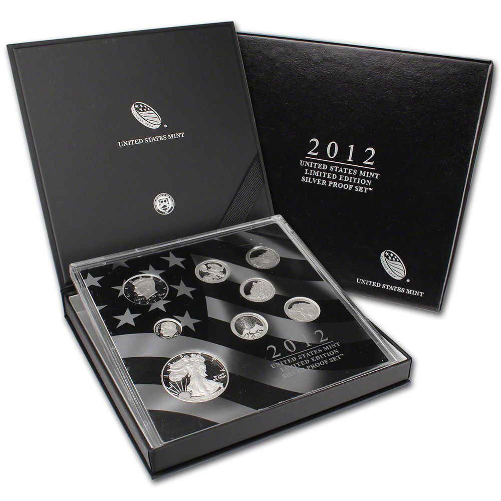2012 United States Mint Limited Edition Silver Proof Set No Coins