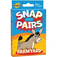 Cheatwell Snap Pairs Farmyard Cards Game