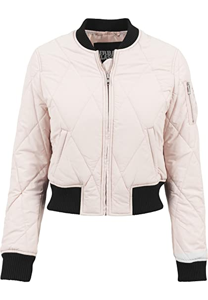 Damen Quilt Ladies Diamond Urban Jacke Bomber Classics Short jSVLGUzMqp