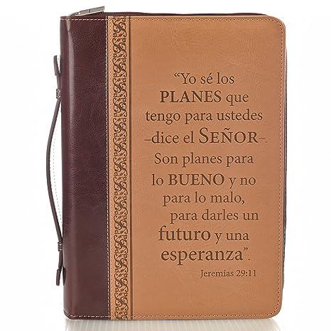 Amazon.com : Forro de Biblia Grande, Yo sé los planes que ...