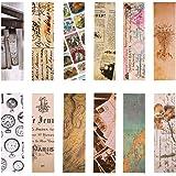 Segnalibri stile vintage per donna uomo, 30 pezzi (collezione retrò)