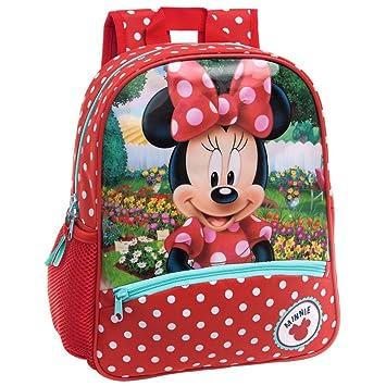 Disney 4422251 Minnie Garden Mochila Infantil, 9.8 litros, Color Rojo: Amazon.es: Equipaje