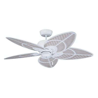 Buy Emerson Ceiling Fans Cf621sw Batalie Breeze 52 Inch Indoor Outdoor Ceiling Fan Wet Rated Light Kit Adaptable Satin White Finish Online In Indonesia B00hztt9y2